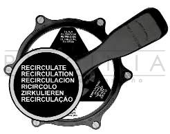 valvula selectora filtracion posicion recirculacion