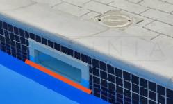 perdida de agua en skimmer PISCINIA