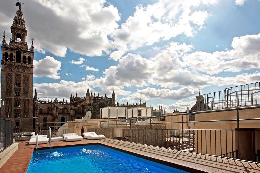 ¿Es posible instalar una piscina en mi terraza o mi ático?
