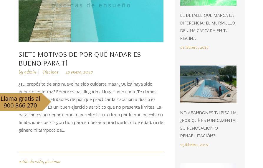 Blog de Piscinia